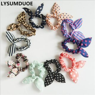 Candy Color Rubber Band Elastic Hair Bands Girl For Accessories Girls HeadweaFO